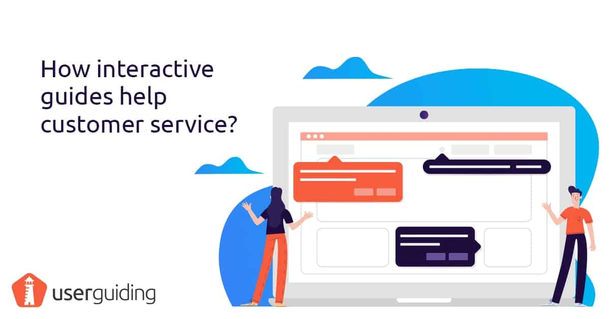 how interactive guides help customer service