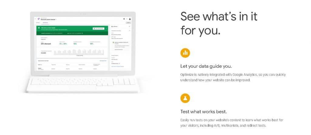 Best A/B Testing Tools - Google Optimize