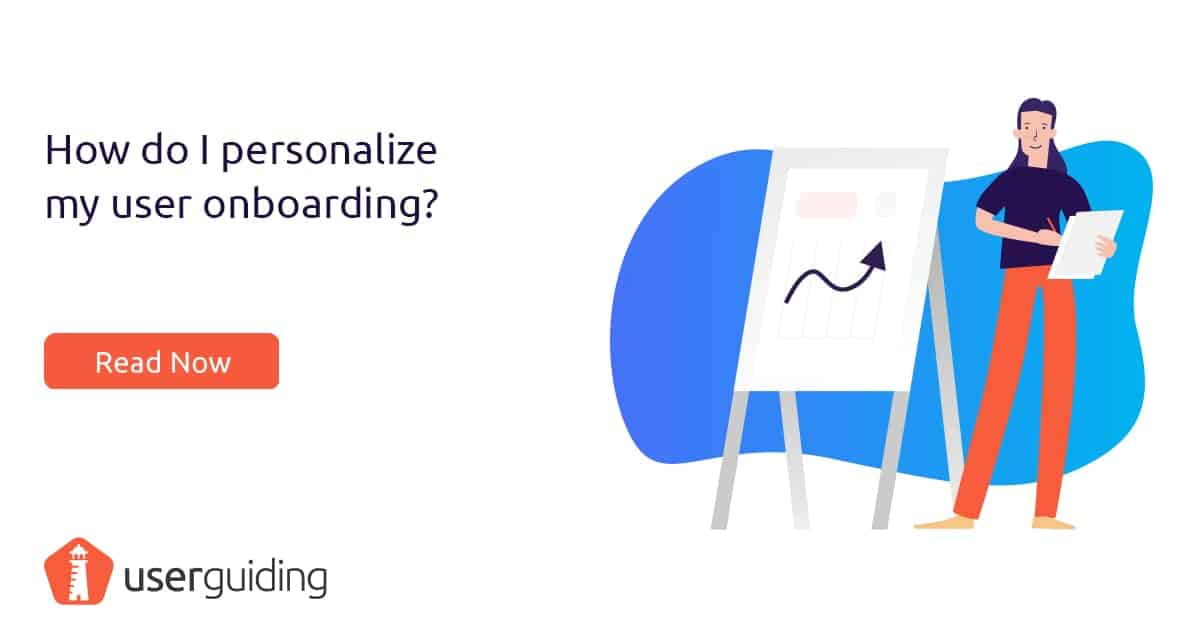 how to personalize user onboarding