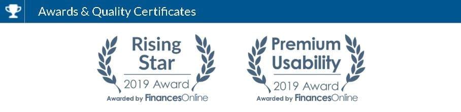 userguiding rising star premium usability awards financesonline