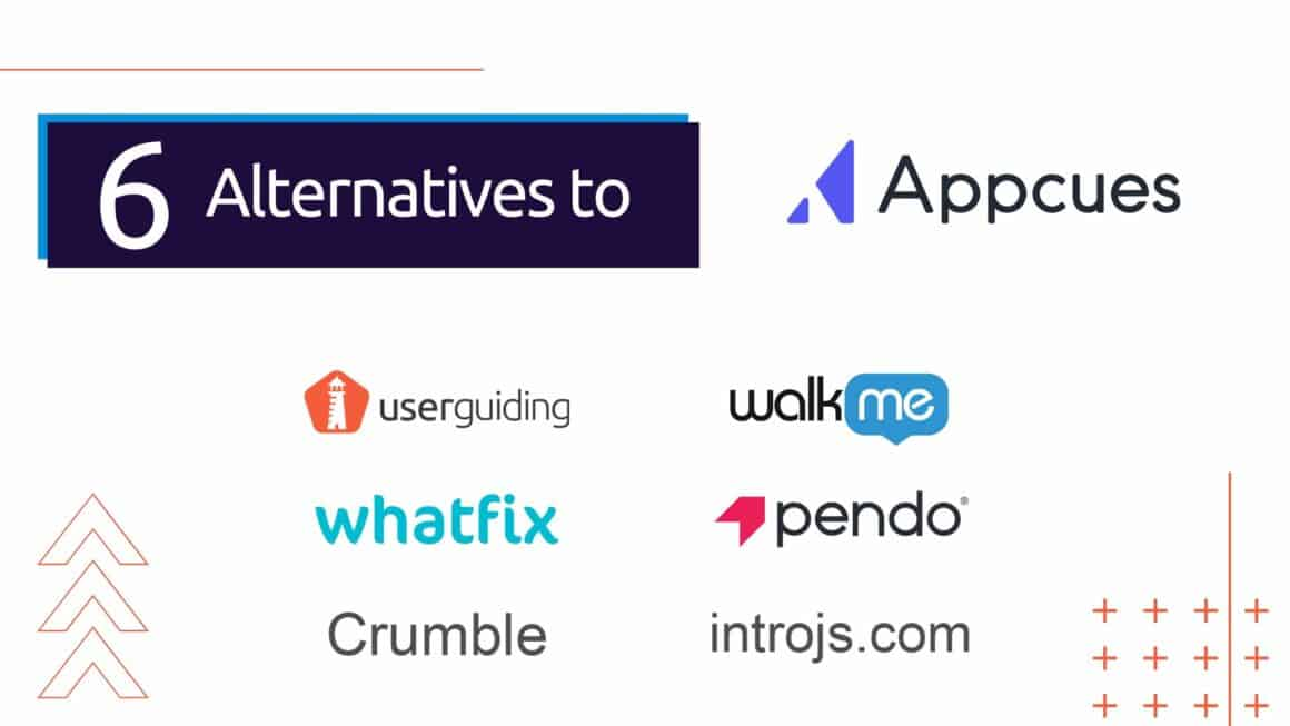 appcues alternatives competitors