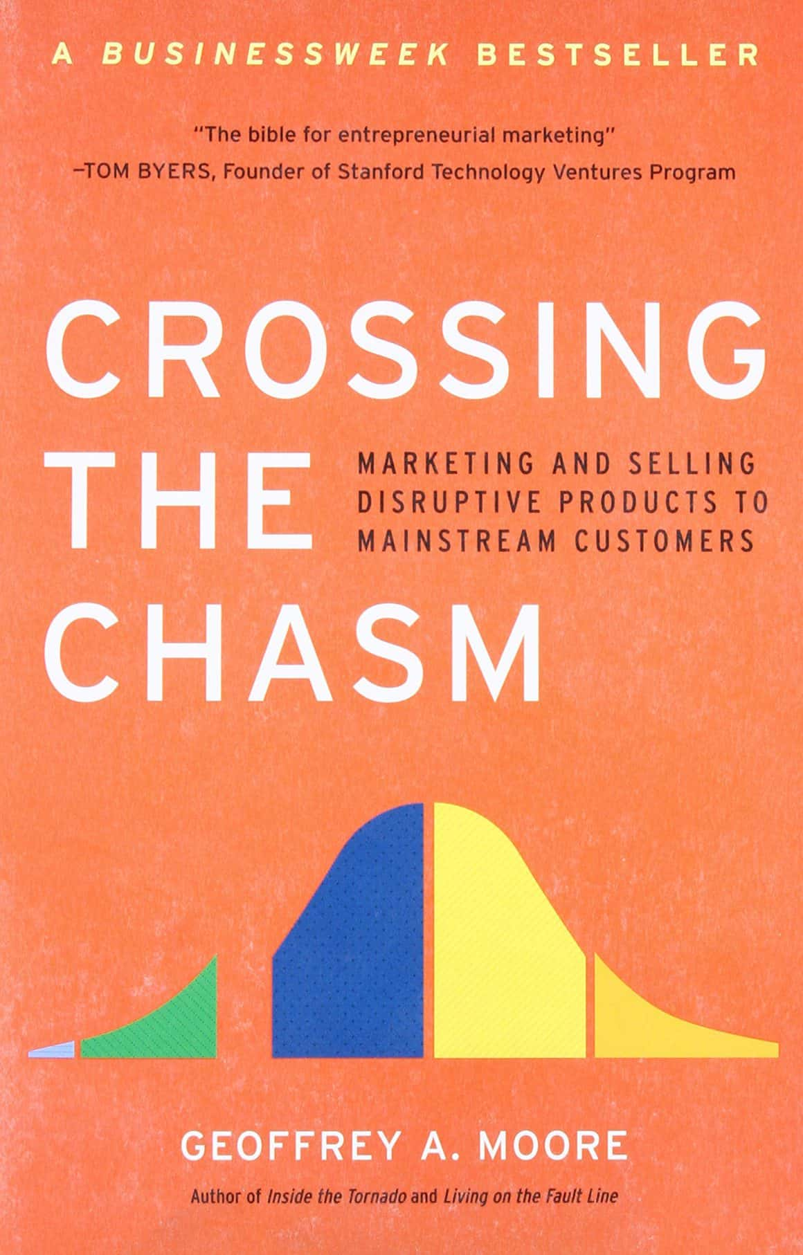 best books for product marketing managers crossing the chasm geoffrey moore