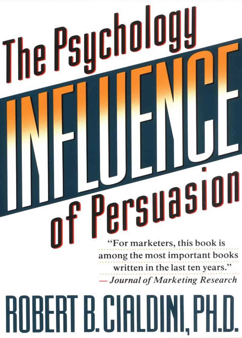 best books for product marketing managers influence robert cialdini