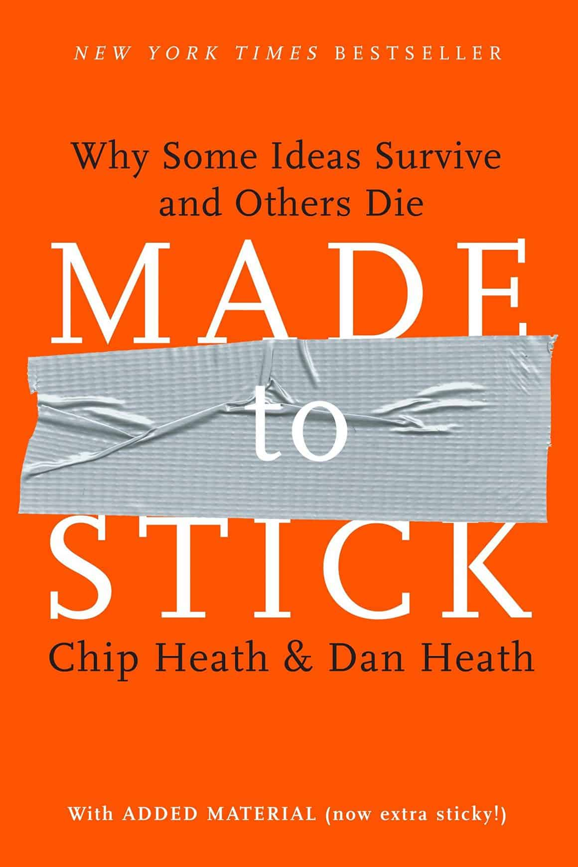 best books for product marketing managers made to stick chip heath dan heath