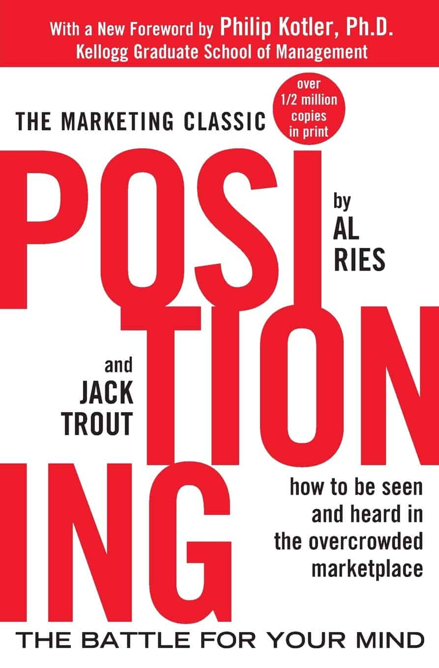 best books for product marketing managers positioning al ries
