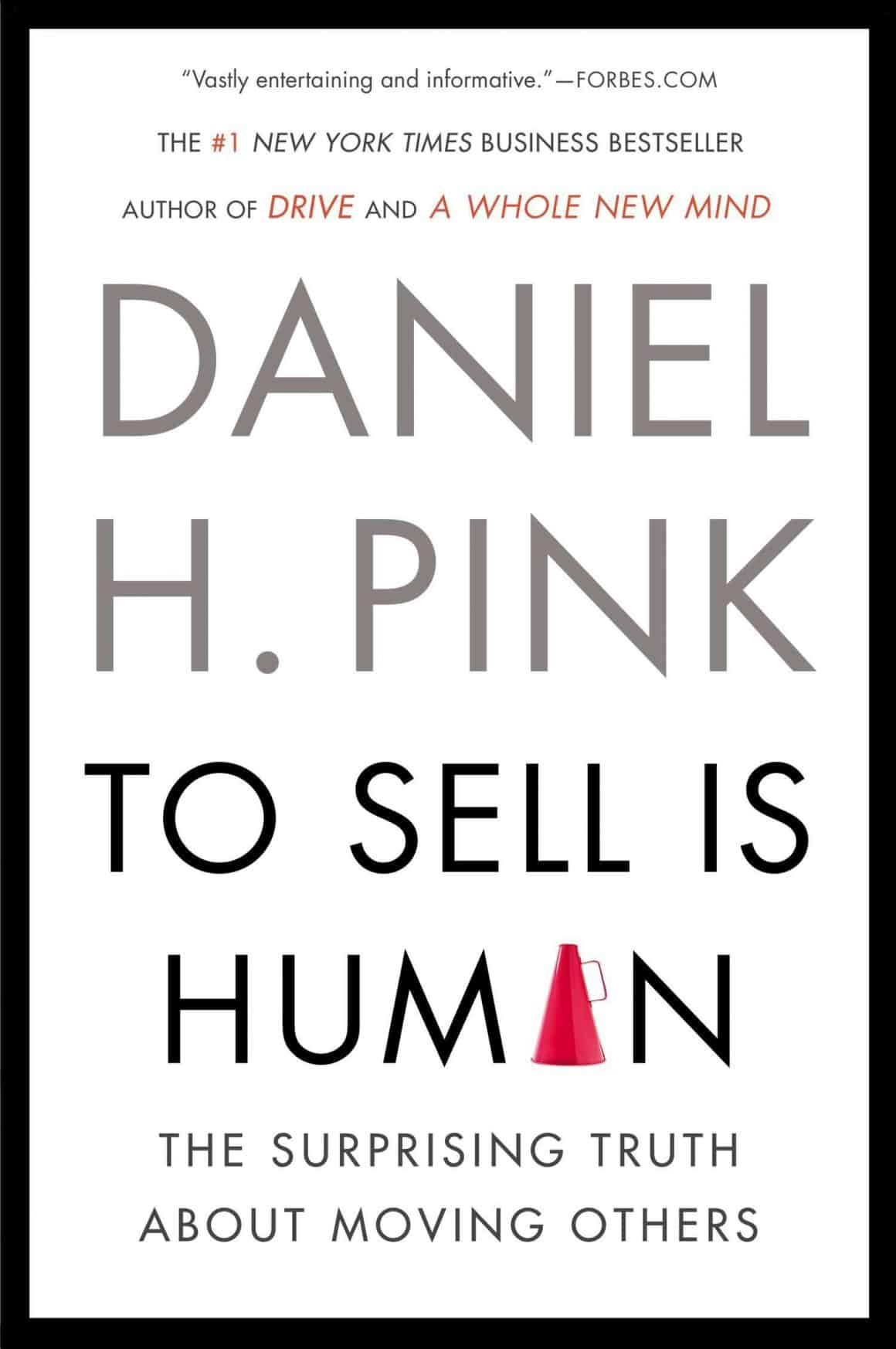 best books for product marketing managers to sell is human daniel pink
