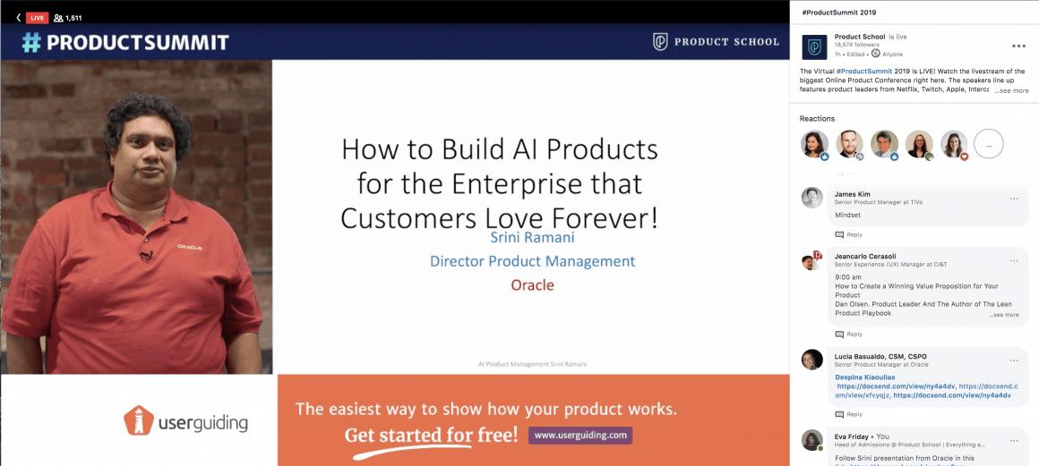 virtual product summit 2019 userguiding