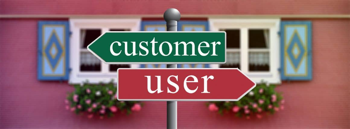 user vs customer onboarding difference
