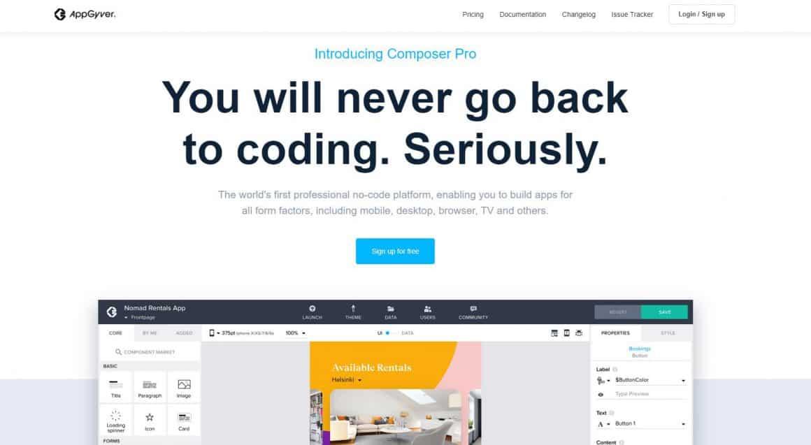 AppGyver at TechCrunch Disrupt Berlin 2019