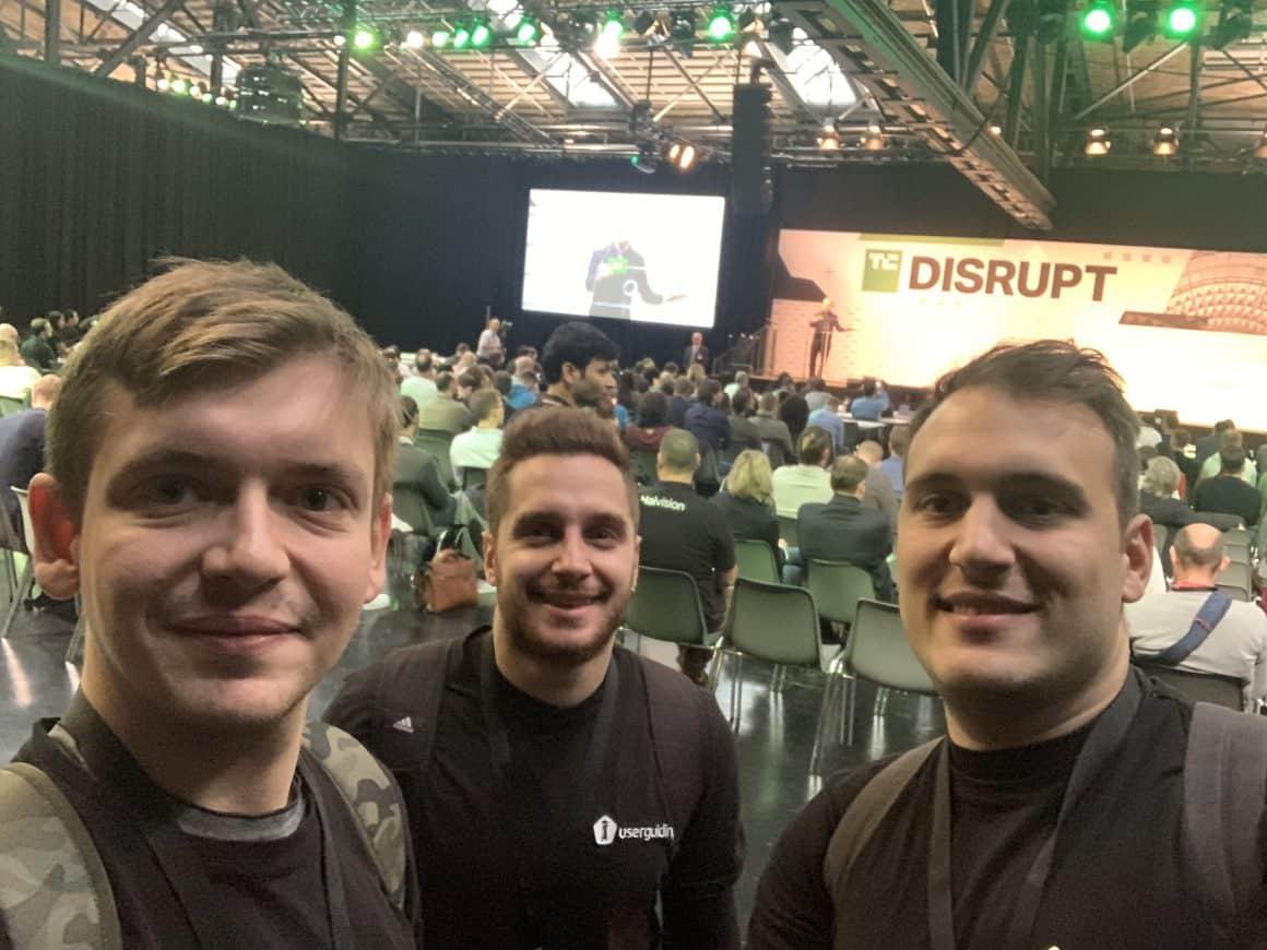 team userguiding techcrunch disrupt berlin