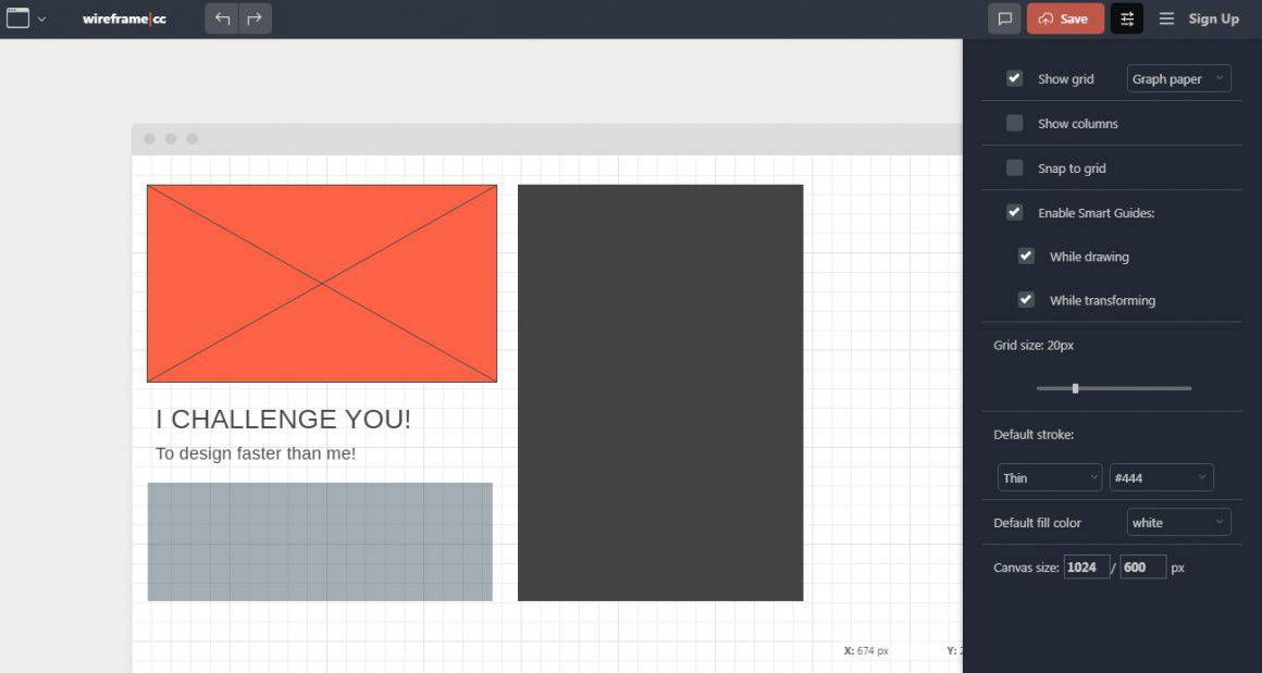 free ux design tools wireframe.cc