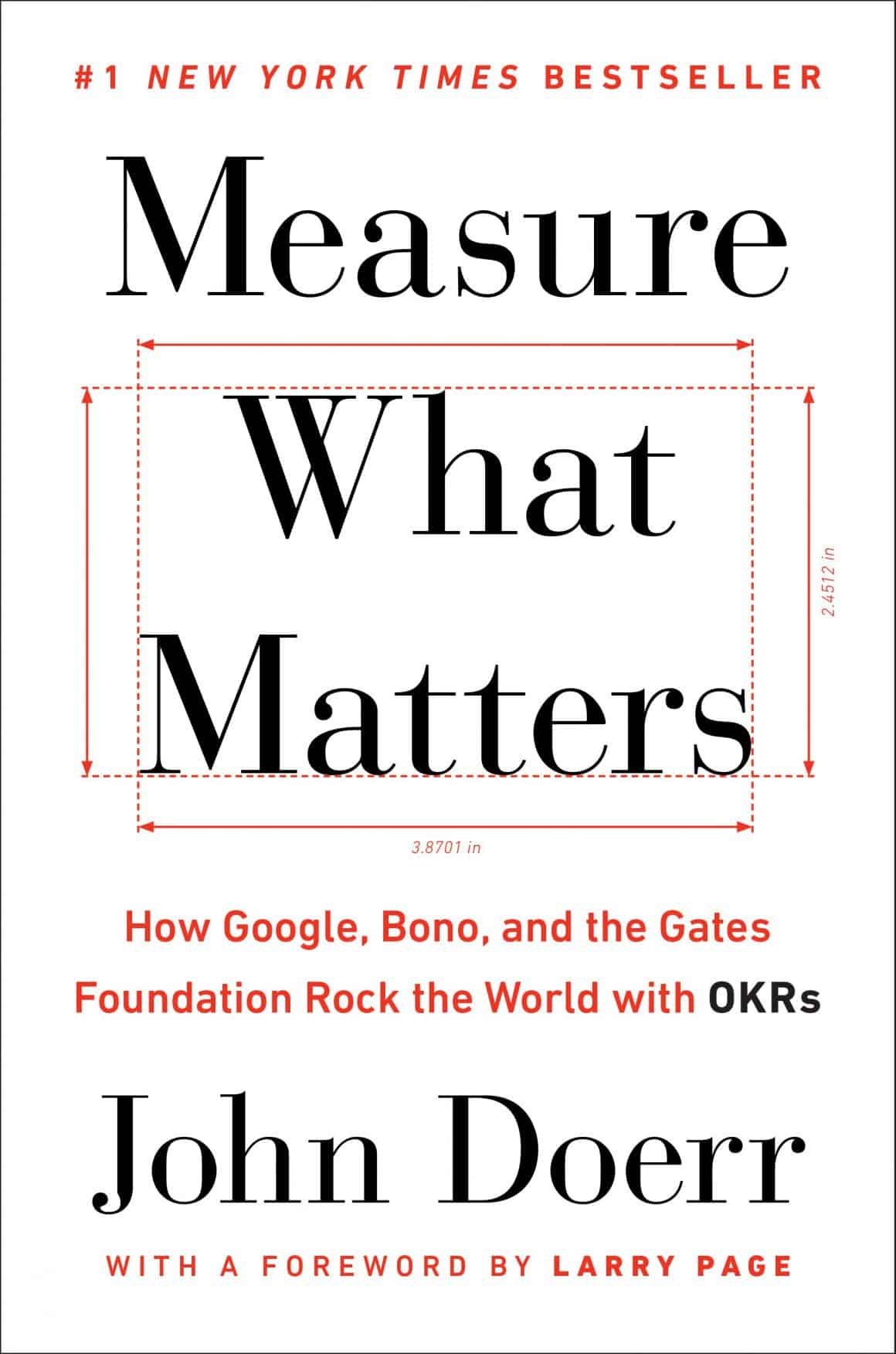 books for product management measure what matters