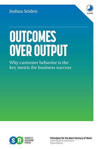 books for product management outcomes over output