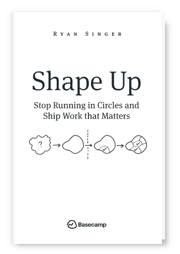 books for product management shape up