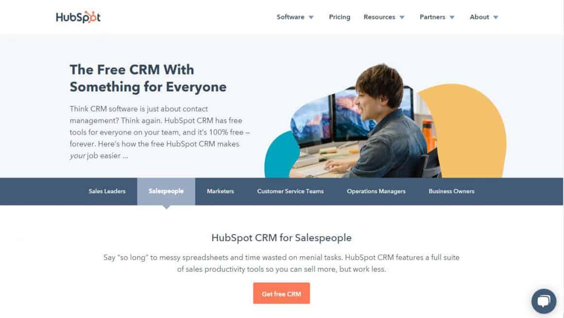 best crm tools hubspot