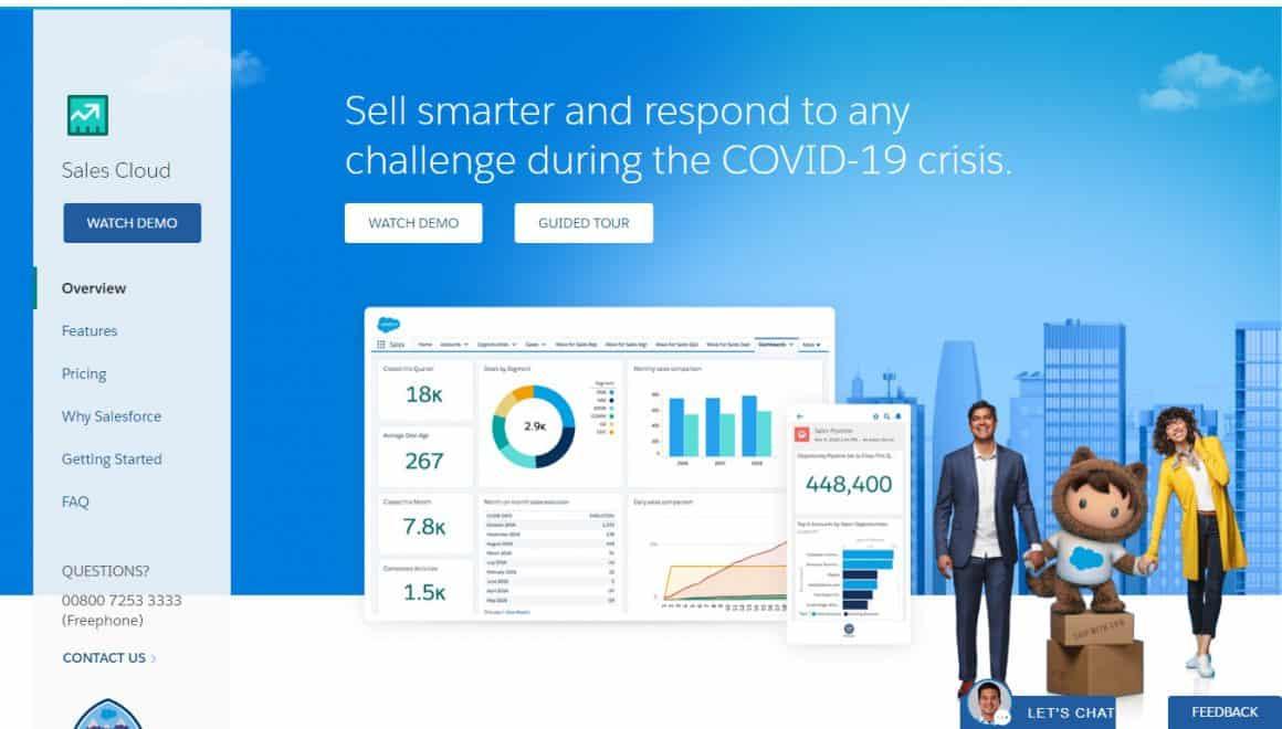 best crm tools salesforce salescloud