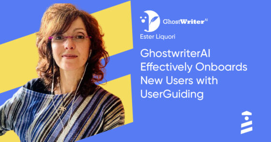 GhostWriterAI UserGuiding success story