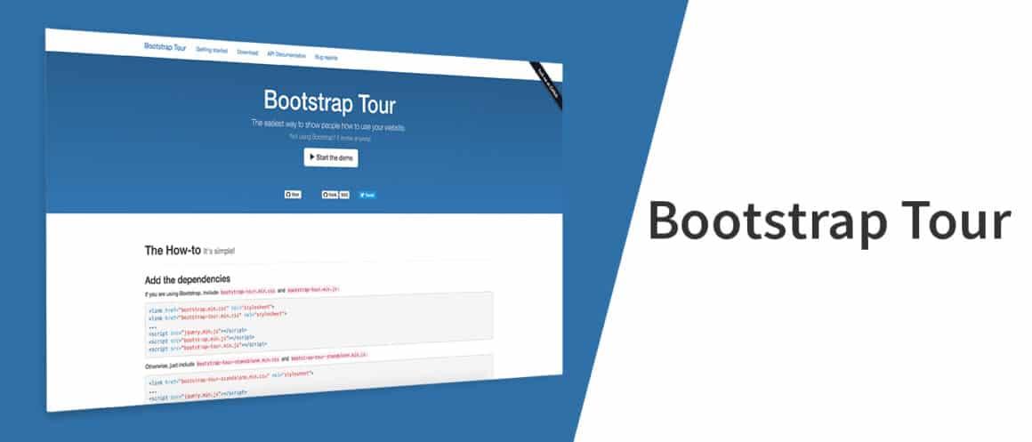 alternatives to bootstrap tour