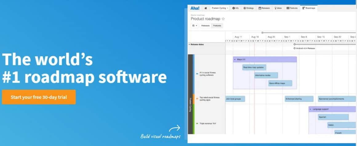 product management tools aha