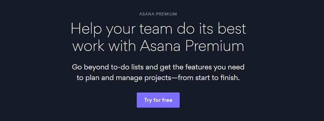 product manager tools asana