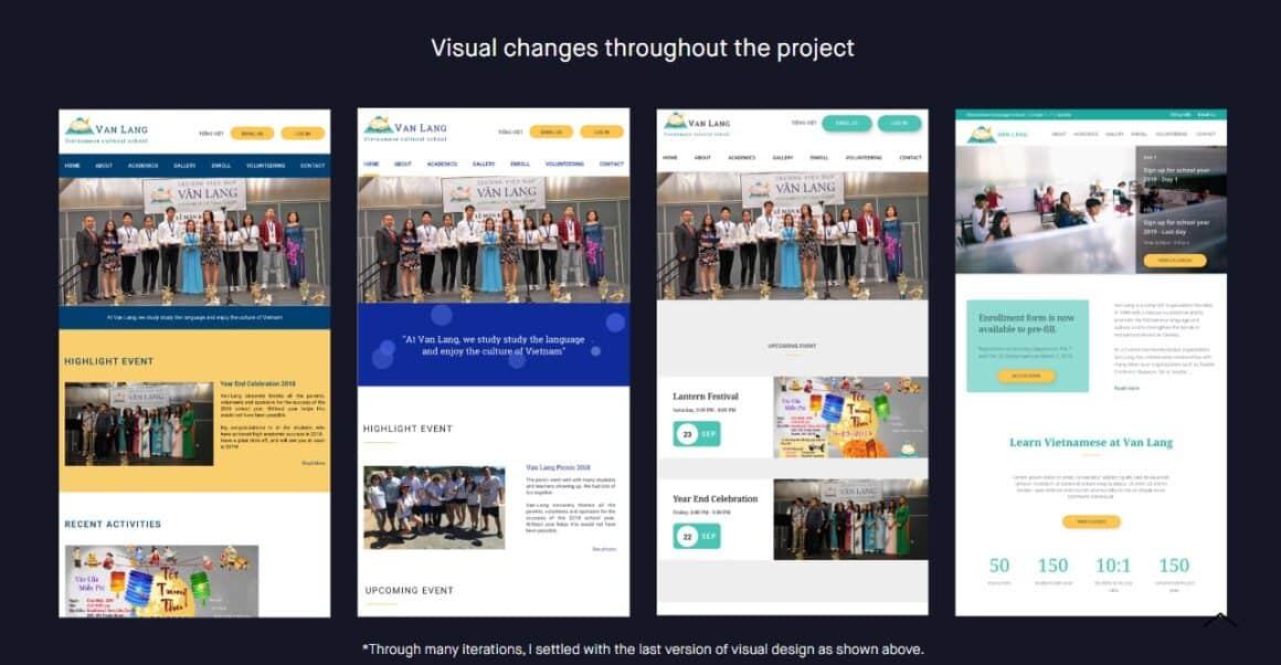 ux designer portfolio examples tien dao