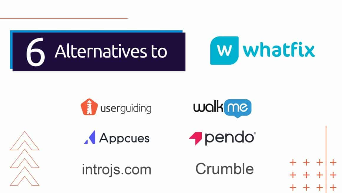 whatfix alternatives