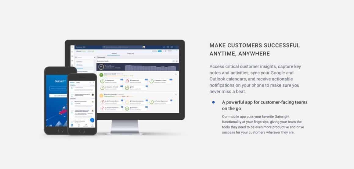 top customer success tools gainsight