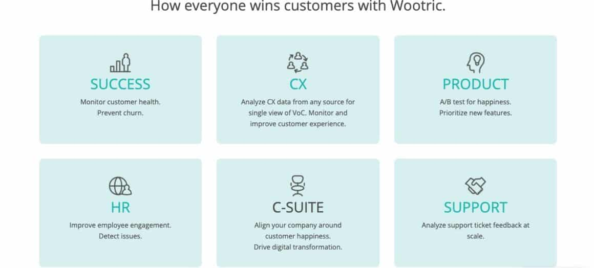 user onboarding tools wootric