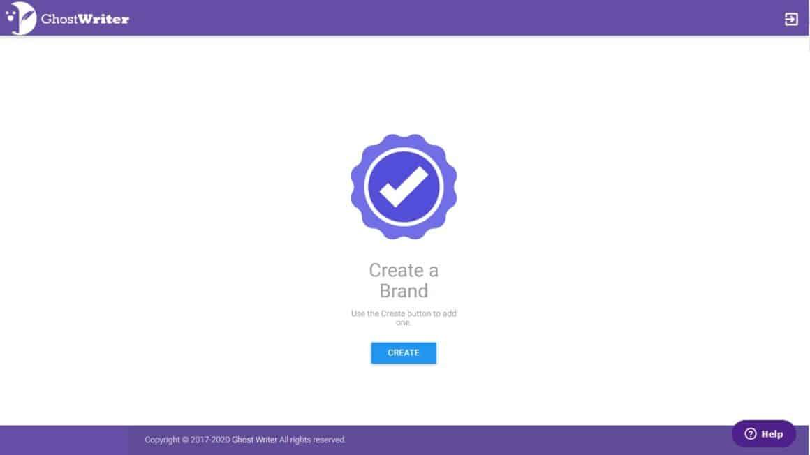 web app interactive  walkthrough examples ghostwriterAI 7