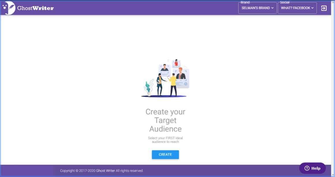 web app interactive  walkthrough examples ghostwriterAI 6