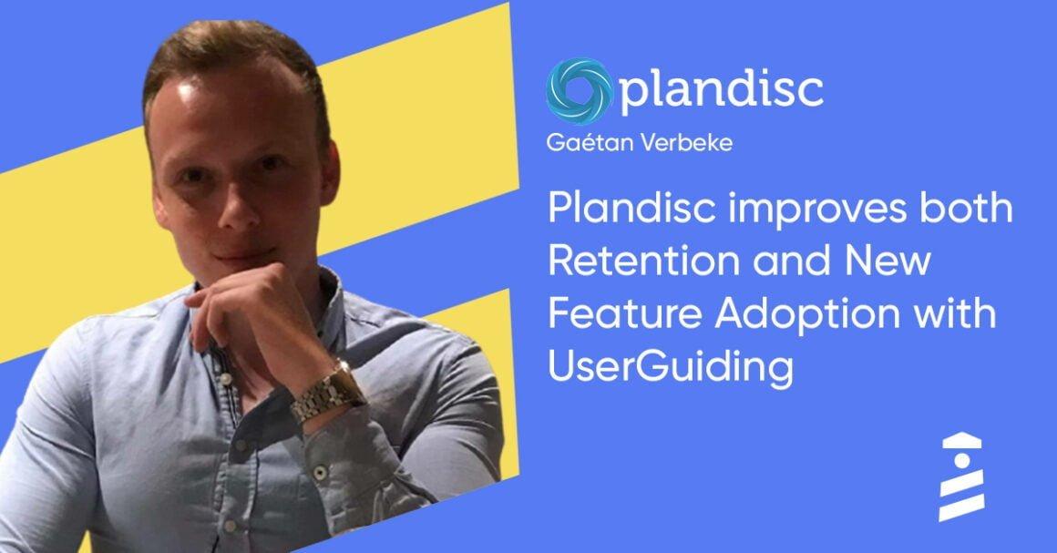 Plandisc UserGuiding success story