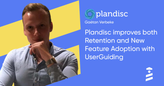 Plandisc UserGuiding success story