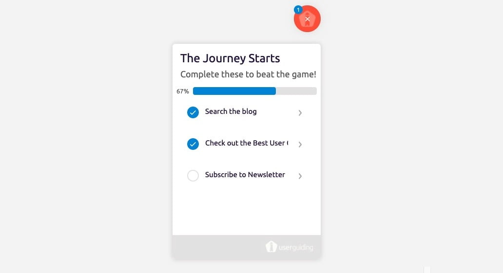 make user onboarding fun checklist