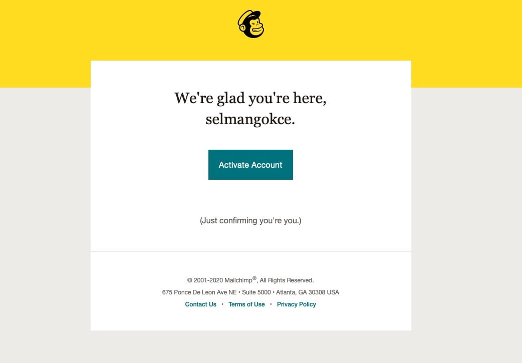 saas onboarding examples mailchimp 2
