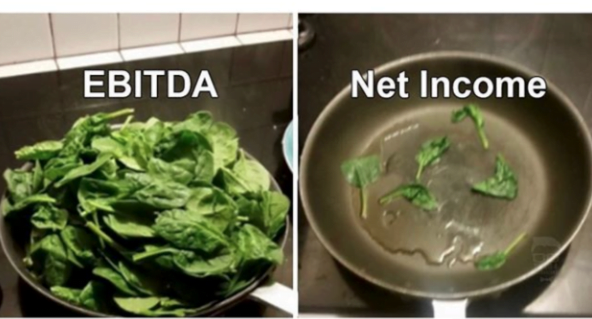 EBITDA and Net Income