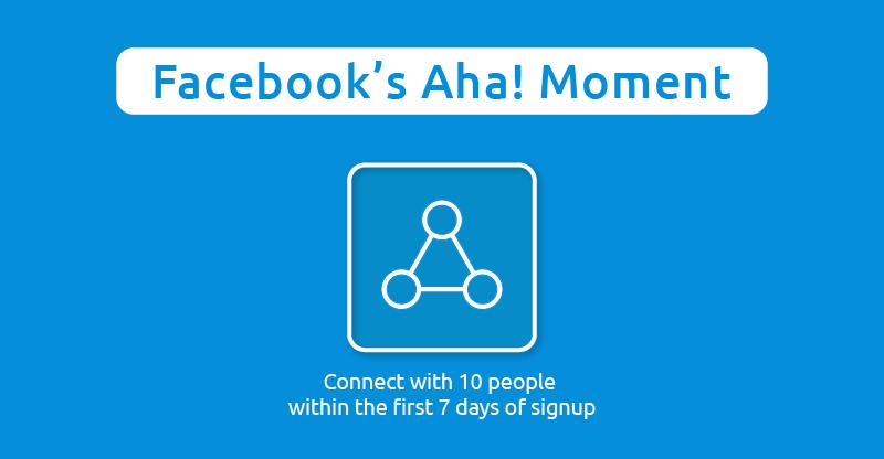 aha moment example facebook