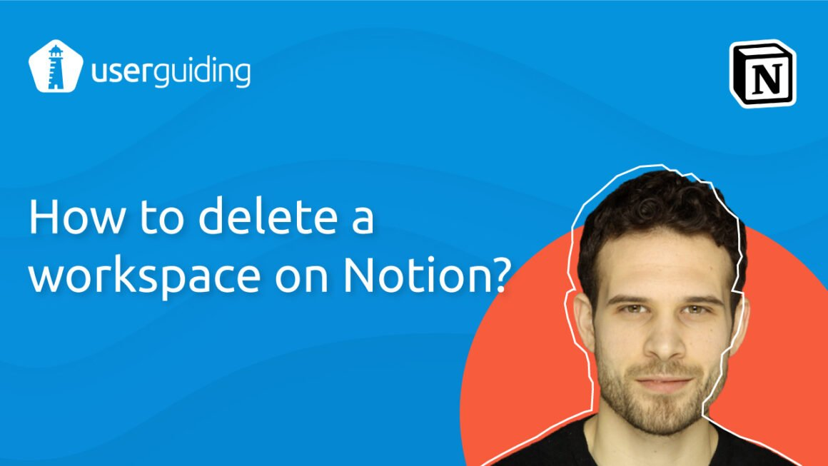 How to delete a workspace on Notion?
