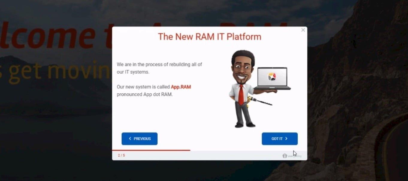 RAM success story 3