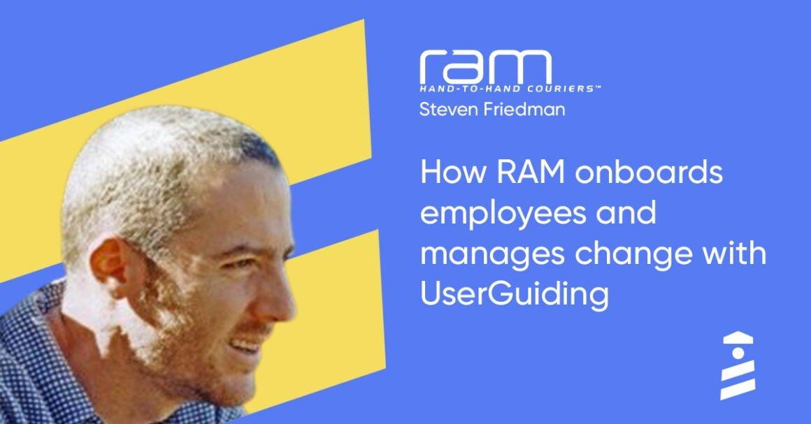 ram steven friedman userguiding success story