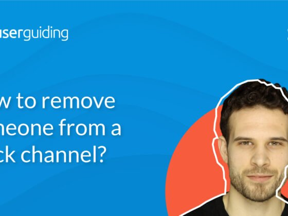 How to remove someone from a Slack channel?