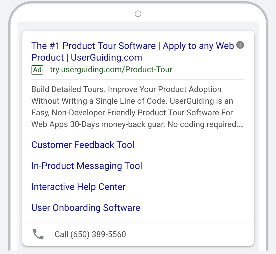 saas marketing advertisement