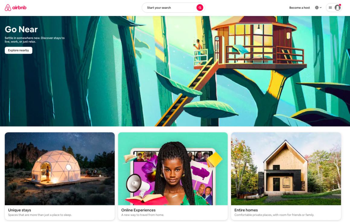 esempi di proposte di valore airbnb