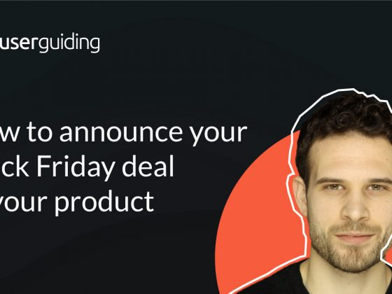 How To Announce Your Black Friday Deal In Your Product?