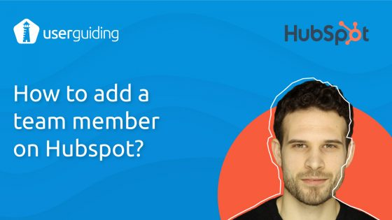 How to add a team member on Hubspot