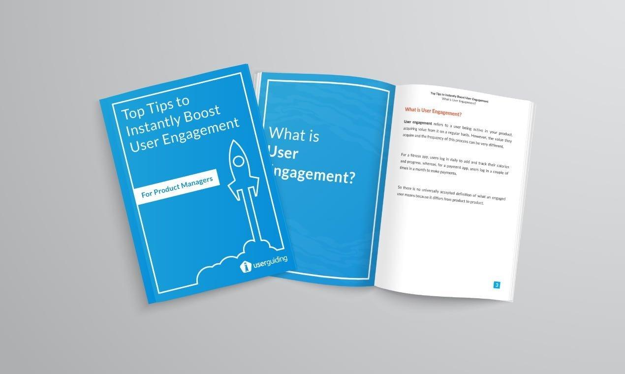 userguiding user engagement tips e-book