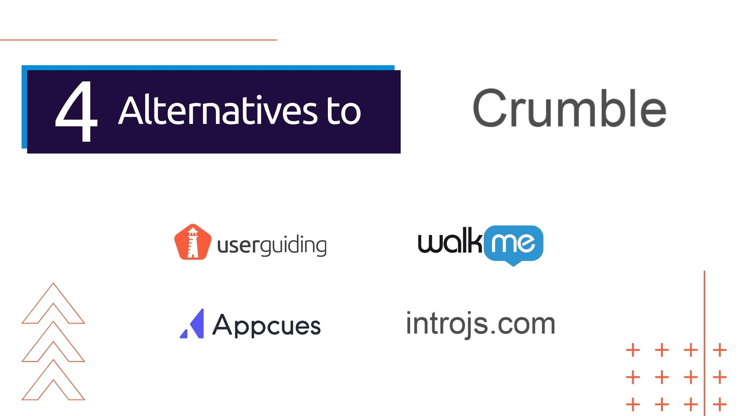 crumble alternatives
