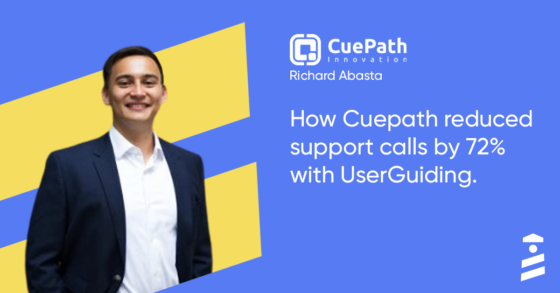 userguiding success story cuepath