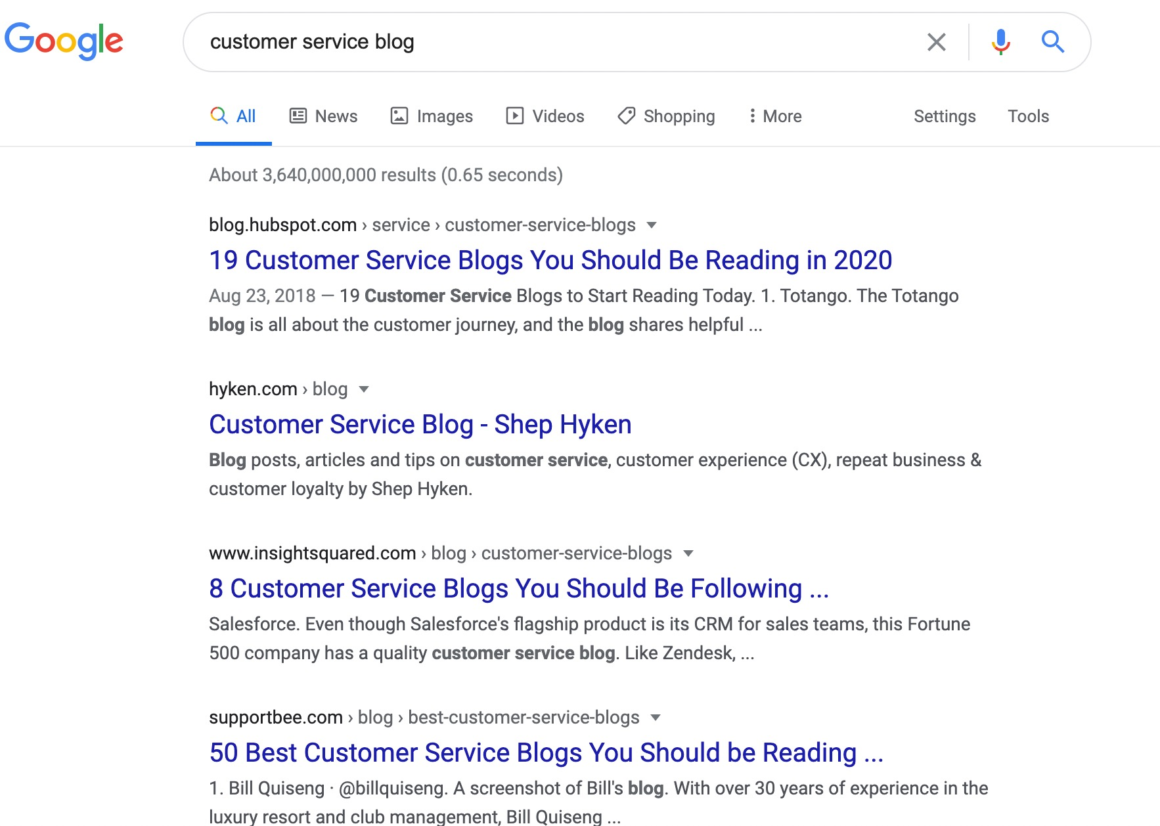 customer service blog getting press coverage for your business