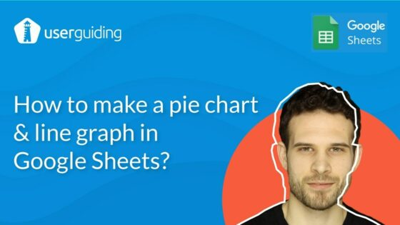how to create pie and line chart graph in google sheets