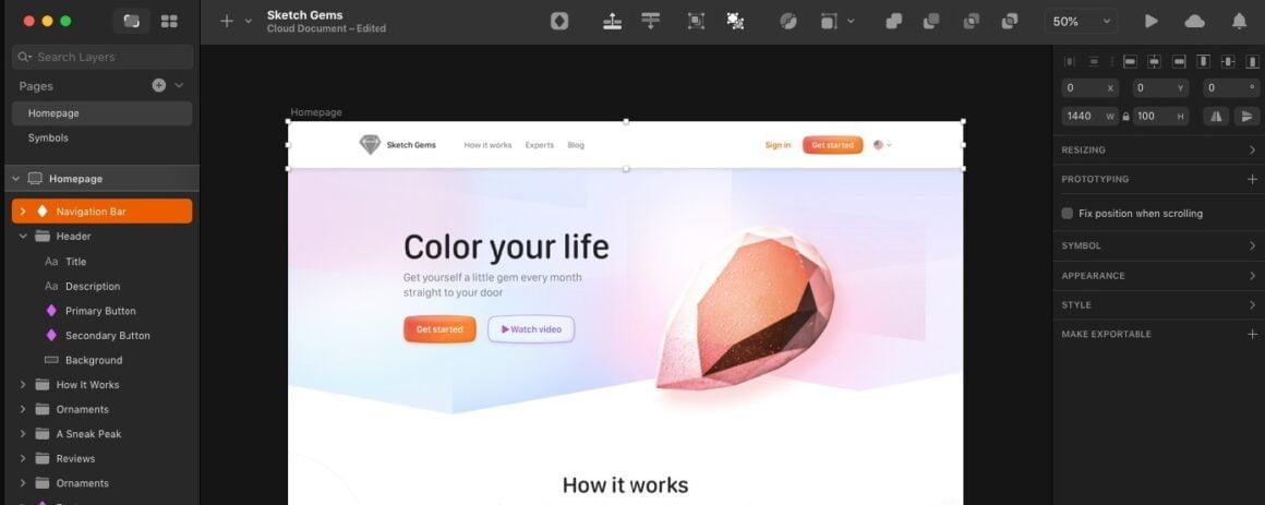 prototype tools sketch